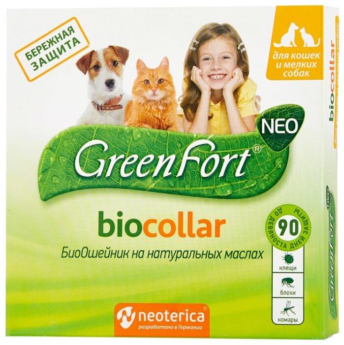 GreenFort ошейник от блох и клещей
