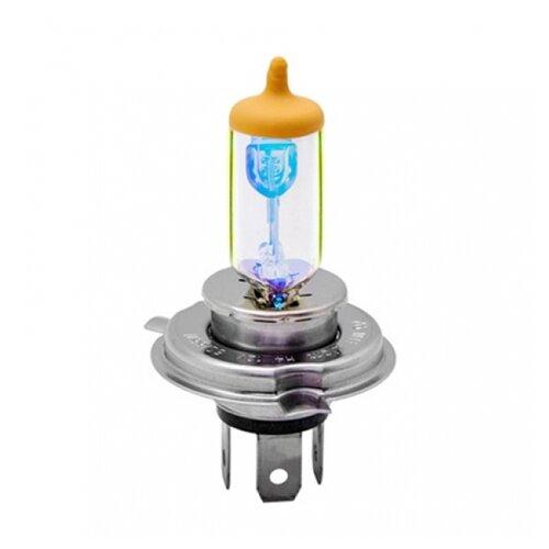 Фото - Лампа автомобильная галогенная MTF Aurum HAU1204 H4 12V 60/55W 2 шт. лампа автомобильная галогенная mtf titanium htn12b4 hb4 9006 12v 55w 2 шт