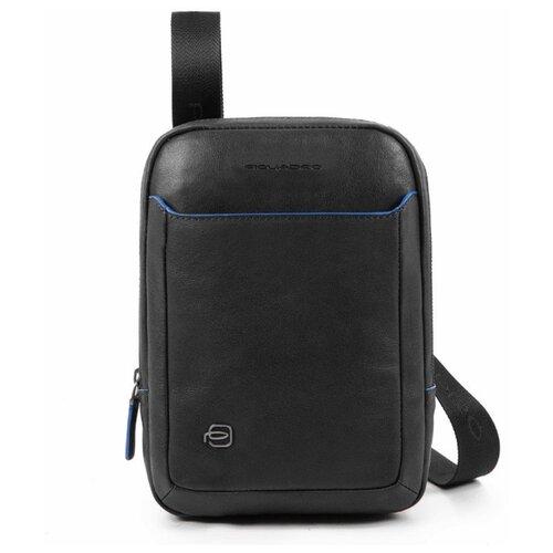 Сумка планшет PIQUADRO CA3084B2S, натуральная кожа, черный планшет