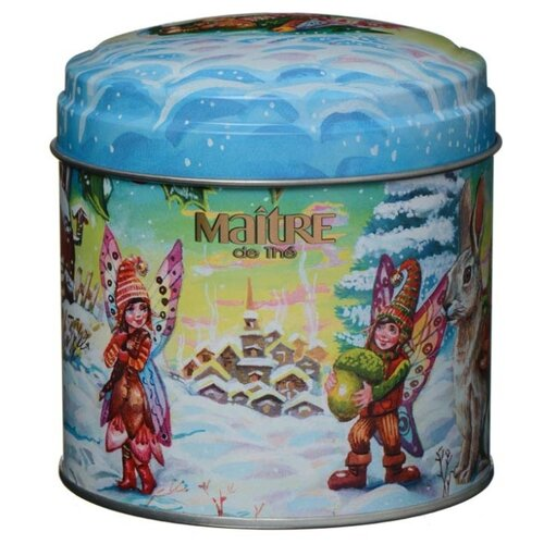 Чай черный Maitre Эльфы Зимние забавы, 100 г