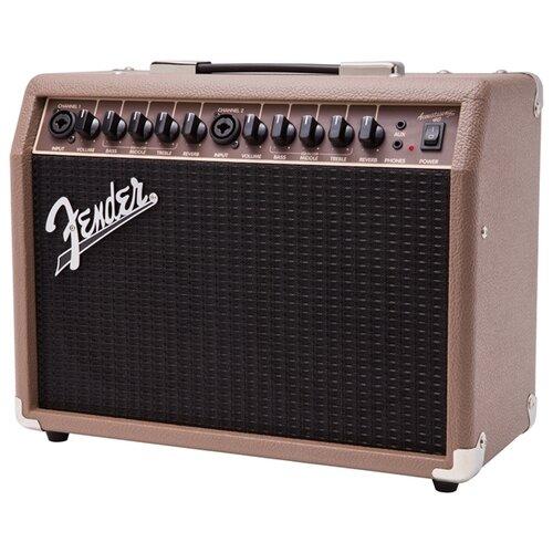 Fender Комбоусилитель Acoustasonic 40 басовый комбоусилитель fender rumble 25 combo v3