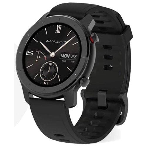Купить Часы Amazfit GTR 42mm aluminium case, silicone strap starry black