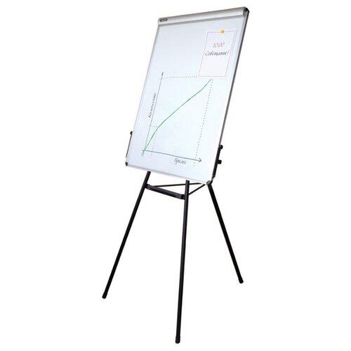 Доска-флипчарт магнитно-маркерная BRAUBERG 231720 (100х70 см) белый/черный