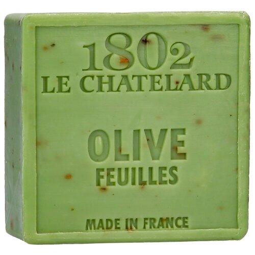 Мыло кусковое Le Chatelard 1802 Листья оливы, 100 г по цене 585