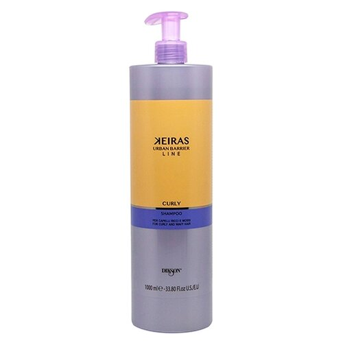 Dikson шампунь Keiras Urban Barrier Line Curly улажняющий для вьющихся волос 1000 мл с дозатором line шампунь
