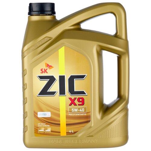 Фото - Синтетическое моторное масло ZIC X9 5W-40 4 л моторное масло zic x9 ls 5w 30 4 л