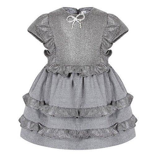 Платье Simonetta размер 116, серый