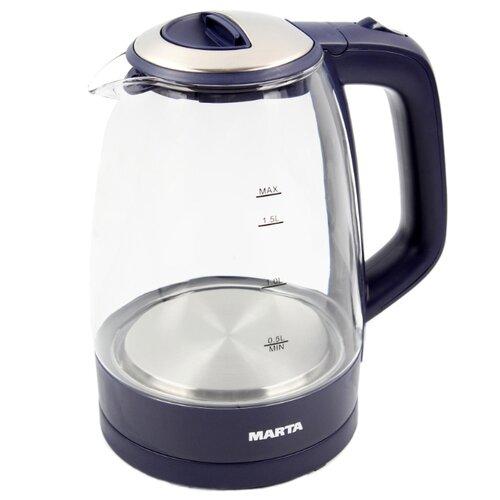 Чайник MARTA MT-1097, темный топаз
