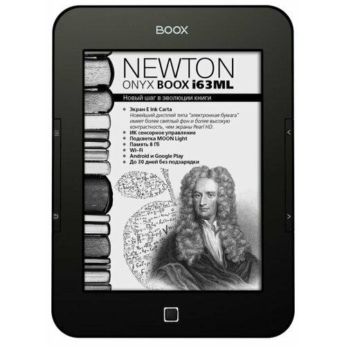 Электронная книга ONYX BOOX BOOX i63ML Newton 8 ГБ черный