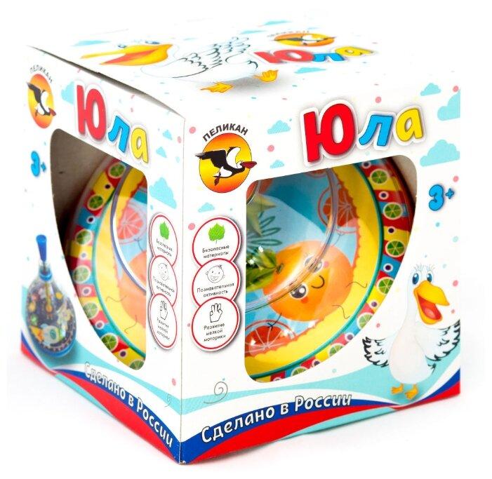 Юла Pelican Апельсин, в коробке (0204)
