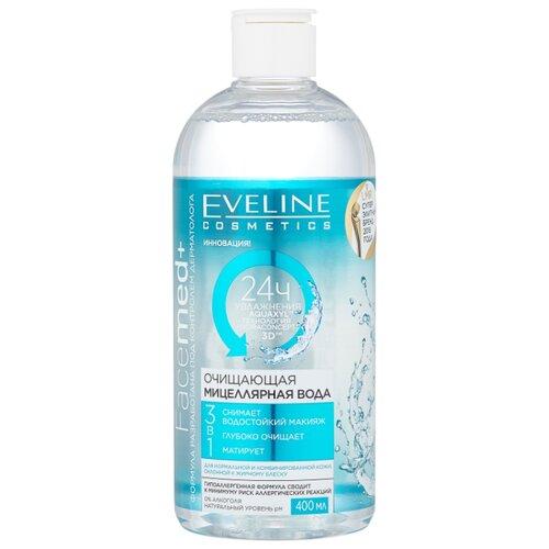 Купить Eveline Cosmetics Facemed+ мицеллярная вода очищающая 3 в 1, 400 мл