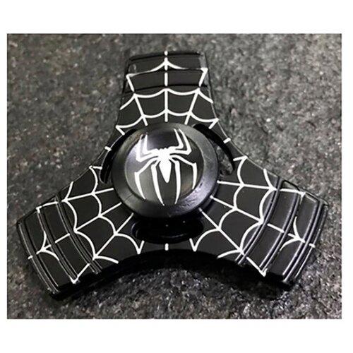 Спиннер Человек-Паук чёрный
