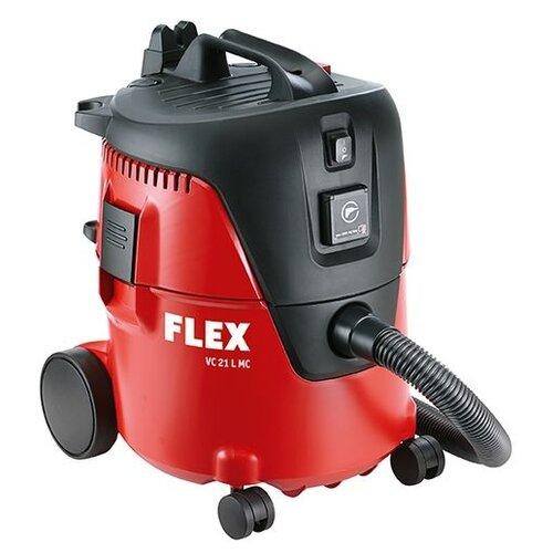 Профессиональный пылесос Flex VC 21 L MC 230/CEE 1250 Вт красный/черный