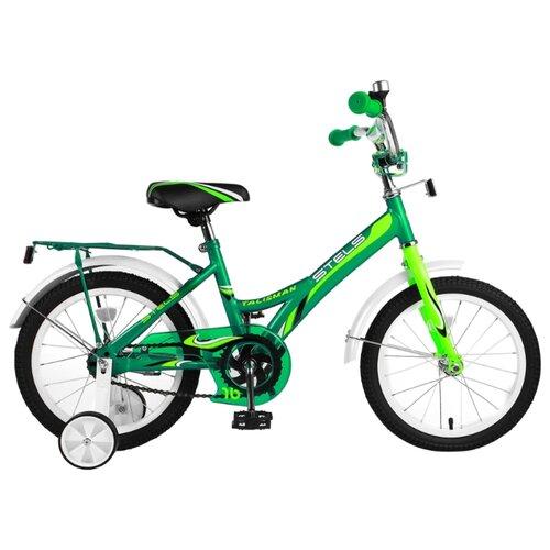 """Детский велосипед STELS Talisman 16 Z010 (2018) зеленый 11"""" (требует финальной сборки)"""