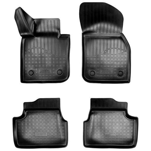 Фото - Комплект ковриков NorPlast NPA10-C57-250 для MINI Hatch 4 шт. черный комплект ковриков norplast np11 ldc 69 250 renault koleos 5 шт черный