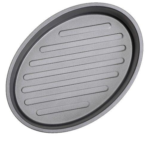 Форма для выпечки Доляна Жаклин Овал 2397293 (30х22х6 см) форма для выпечки стальная доляна жаклин рифленый круг 3741678 24х5 см