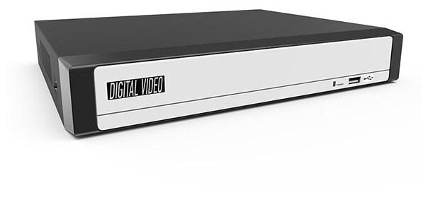 Видеорегистратор гибридный AHD-H/ AHD-M/ 960H/ IP 16-ти канальный без жесткого диска