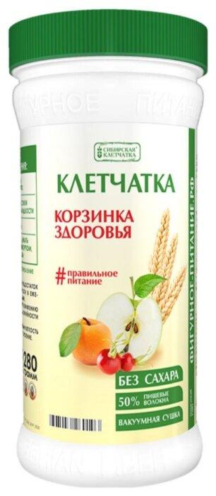 Сибирская клетчатка Корзинка здоровья банка 280г