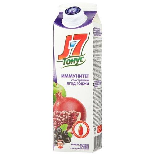 цена на Нектар J7 Тонус Иммунитет Яблоко-Гранат-Арония, 0.9 л