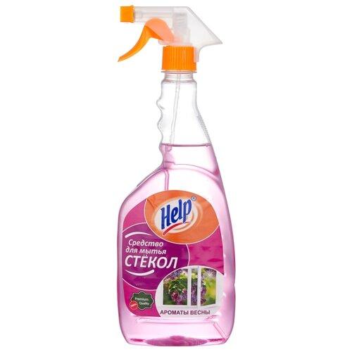 Спрей Help Ароматы весны для мытья стекол, 750 мл недорого