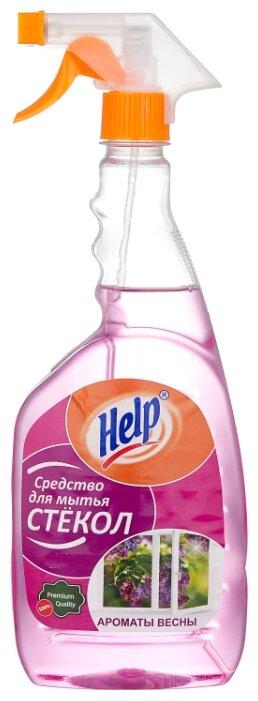 Спрей Help Ароматы весны для мытья стекол 750 мл