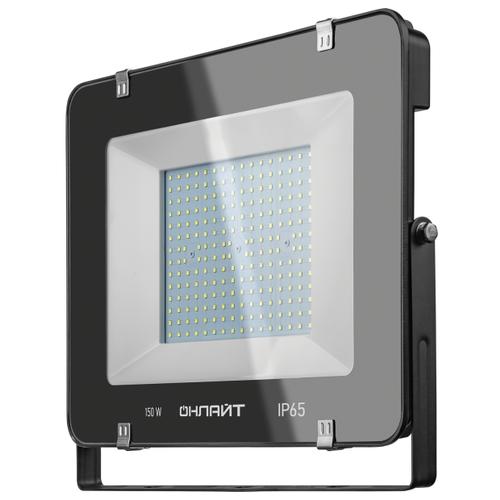 Прожектор светодиодный 150 Вт ОНЛАЙТ OFL-150-6.5K-BL-IP65-LED