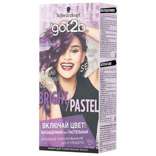Schwarzkopf got2b Bright/Pastel Тонирующая краска для волос, 094 Фиолетовый панк тонирующая краска матрикс