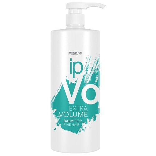 Impression бальзам Extra Volume для придания объема волосам, 1000 мл curex classic набор для волос эстель шампунь бальзам маска 1000 1000 500 мл