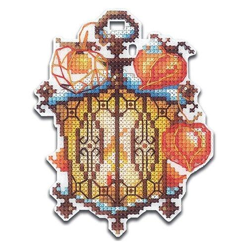 Купить Сделай своими руками Набор для вышивания Огоньки. Физалис 8 х 10.5 см (О-23), Наборы для вышивания