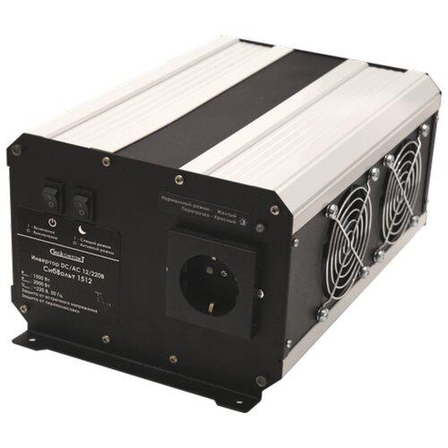 Купить Инвертор СибКонтакт СибВольт 1512 DC-AC черный