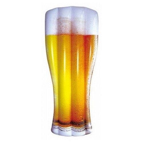 Матрас Digo Пивной бокал 74x186 см желтый/белый