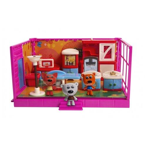 Игровой набор Gulliver Ми-ми-мишки Кеша, Тучка и Лисичка, Кухня BBPS037BBF