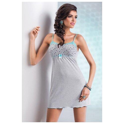Сорочка Donna размер L серый
