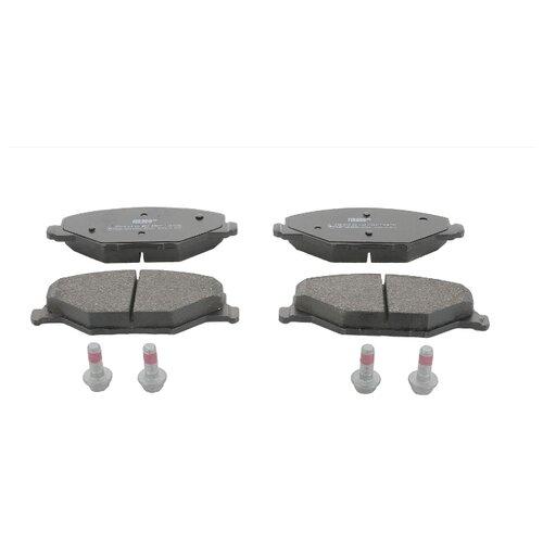 Дисковые тормозные колодки передние Ferodo FDB4590 для Skoda Fabia (4 шт.) тормозные колодки дисковые kotl 1546kt