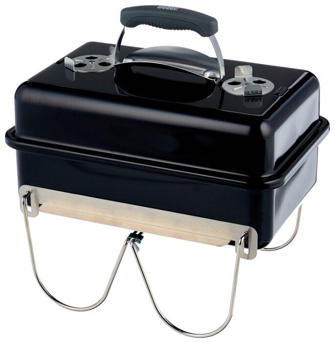 Угольный гриль Weber Go Anywhere, 43х31х41 см