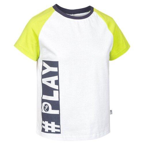 Купить Футболка Nota Bene размер 128, белый, Футболки и майки