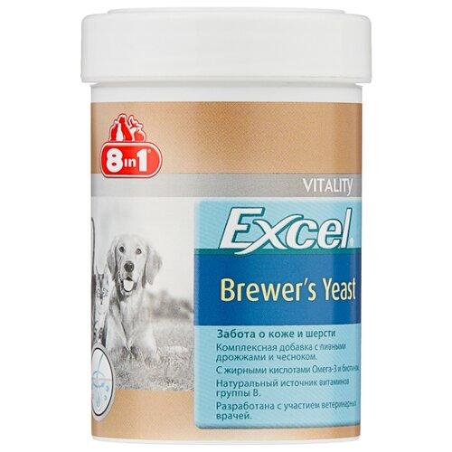 Добавка в корм 8 In 1 Excel Brewer's Yeast для кошек и собак 260 таб. недорого