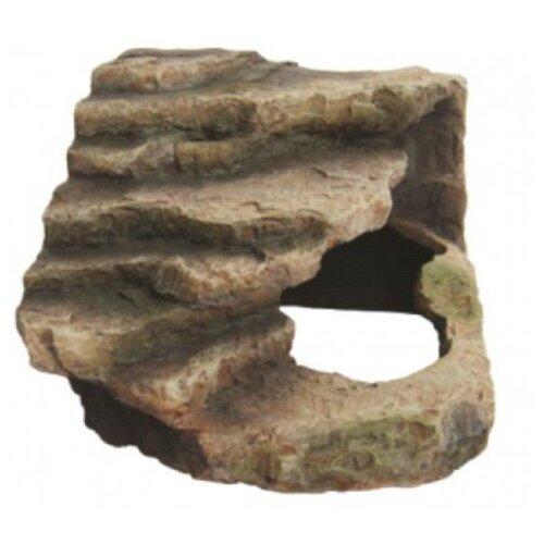 Грот BARBUS Decor 065 для черепах 17x12x15.5 см коричневый