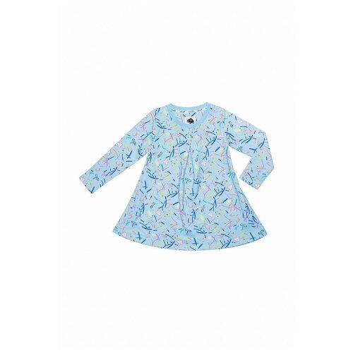 Платье Vorob'i размер 92, голубой