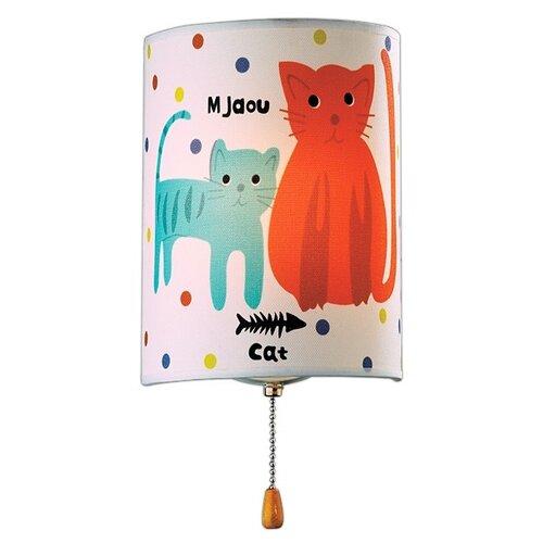 Бра Odeon light Cats 2279/1W, с выключателем, 40 Вт бра odeon light 4102 1w