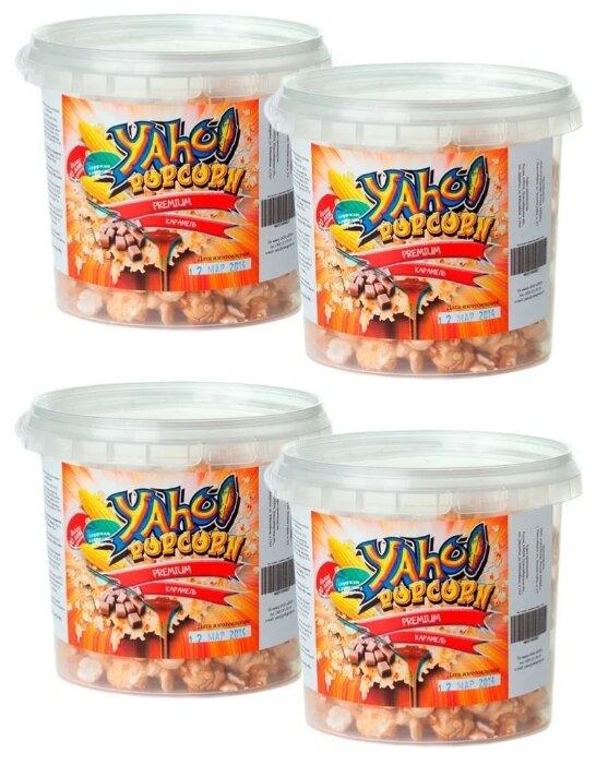 Попкорн Yaho Premium в карамели готовый, 100 г (4 шт.)