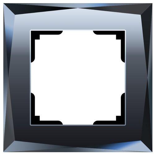 Рамка 1п Werkel WL08-Frame-01, черный