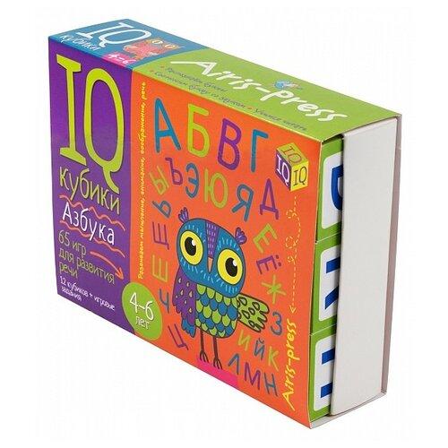 Купить Обучающий набор Айрис-Пресс Умные кубики. Азбука. 65 игр для развития речи. 4-6 лет разноцветный, Обучающие материалы и авторские методики