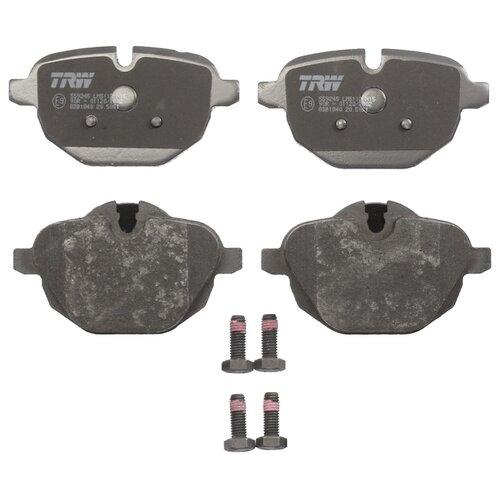 Дисковые тормозные колодки задние TRW GDB1840 для BMW X3, BMW X4, BMW Z4 (4 шт.)
