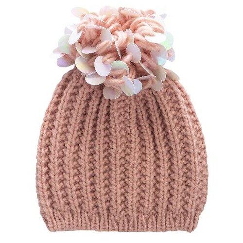 Шапка Chicco размер 006, розовый шапка бини chicco размер 006 розовый