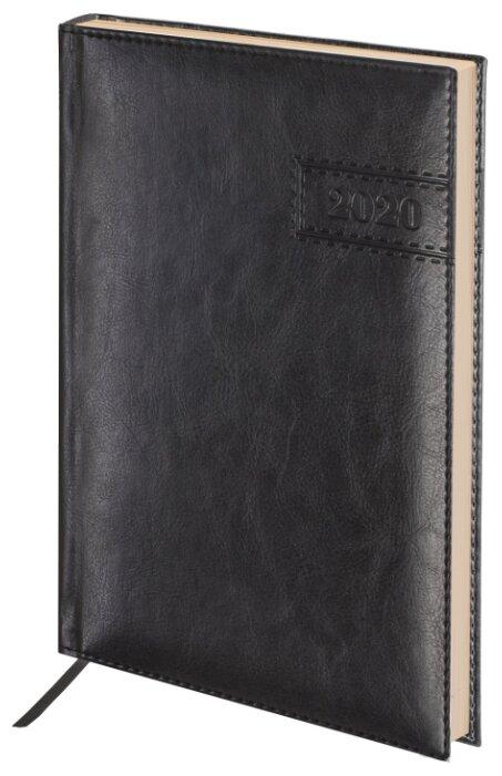 Ежедневник BRAUBERG Imperial датированный на 2020 год, искусственная кожа, А5, 168 листов