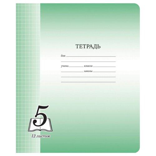 Купить ArtSpace Упаковка тетрадей Пятерка Тф12к_6266, 20шт, клетка, 12 л., Тетради