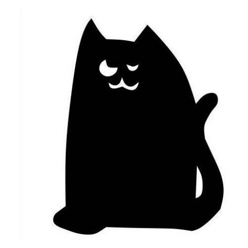 Наклейка Melo Mark Кот, меловая наклейка мел посмел мел посмел меловая наклейка для записей кот размер 27х34 см k110 черный