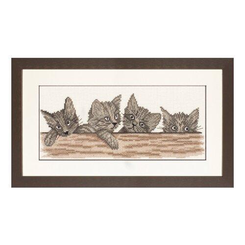 Купить Набор для вышивания Cats Over The Fence LANARTE, 35130A, Наборы для вышивания