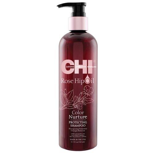 CHI шампунь Rose Hip Oil, 340 мл chi luxury black seed oil curl defining cream gel